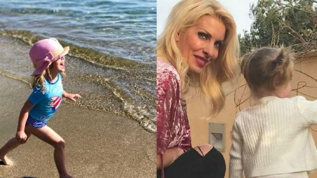 Ελένη Μενεγάκη: Γι' αυτό απουσίαζε η κόρη της Μαρίνα από τις φωτογραφίες στην Άνδρο