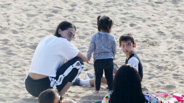Ολυμπία Χοψονίδου: Μόνη με τα παιδιά στον Άστερα Βουλιγασμένης! Τι συνέβη με τον Σπανούλη;
