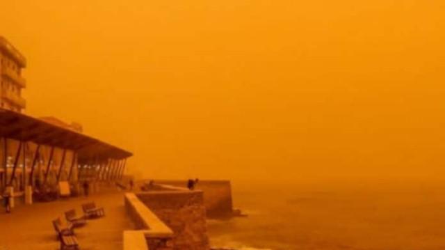 Καιρός: Αφρικανική σκόνη σε όλη την χώρα! Πόσο θα διαρκέσει - πόσο επικίνδυνη είναι!