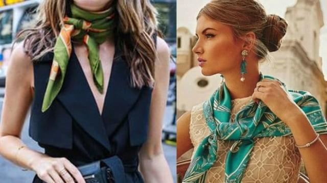 Zara: Tο μαντήλι αποτελεί το απόλυτο αξεσουάρ για να αναβαθμίσει το στιλ σου! Απέκτησέ το!