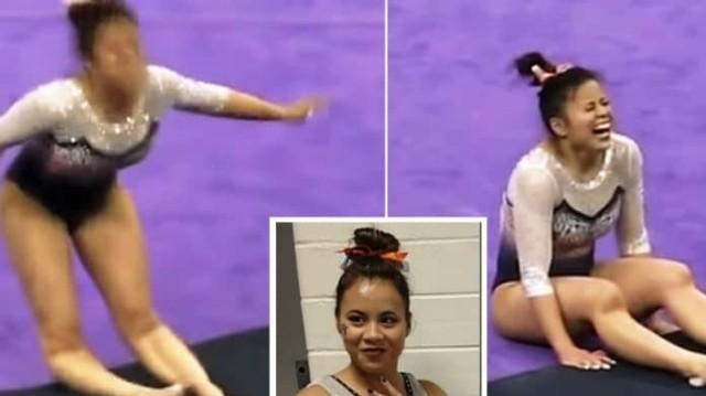 Βίντεο σοκ: Αθλήτρια διαλύει τα πόδια της on camera!
