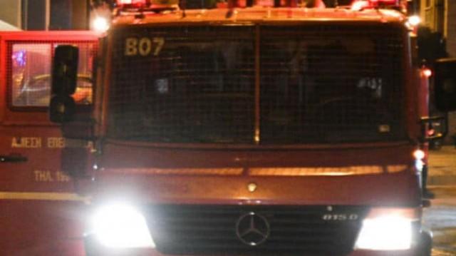 Φωτιά σε διαμέρισμα στα Χανιά -Στο νοσοκομείο με εγκαύματα ο ένοικος