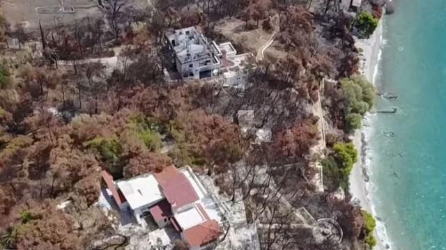 Συγκλονιστικό βίντεο πριν και λίγο μετά την απόλυτη καταστροφή στο Μάτι!