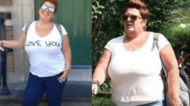 Ελεάννα Τρυφίδου: Έχασε 33 κιλά και ποζάρει με κολλητό ριγέ φόρεμα!