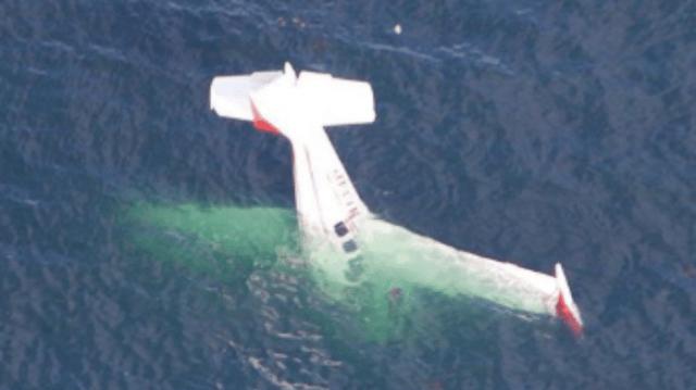 Τρόμος! Αεροπλάνο έπεσε στην θάλασσα! (Βίντεο)