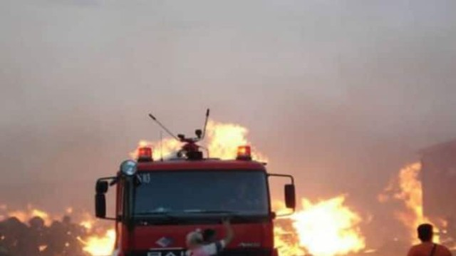 Δύσκολες ώρες για επιχειρηματία! Φωτιά έκανε στάχτη το εργοστάσιό του!