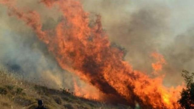 Ξέσπασε επικίνδυνη πυρκαγιά στην Καστοριά! (Βίντεο)
