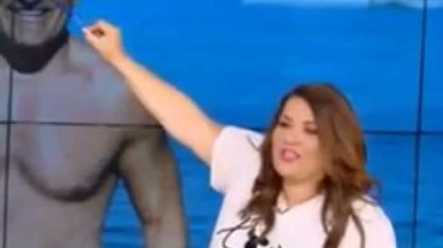 Κατερίνα Ζαρίφη: Οι απίστευτες ατάκες για το σώμα του Σταματόπουλου - «Έδειξε και κοιλιά»! (Βίντεο)