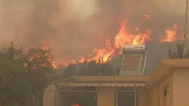 Φωτιά στην Ζάκυνθο: Ανεξέλεγκτη η πυρκαγιά - Καταγγελίες για εμπρησμό!