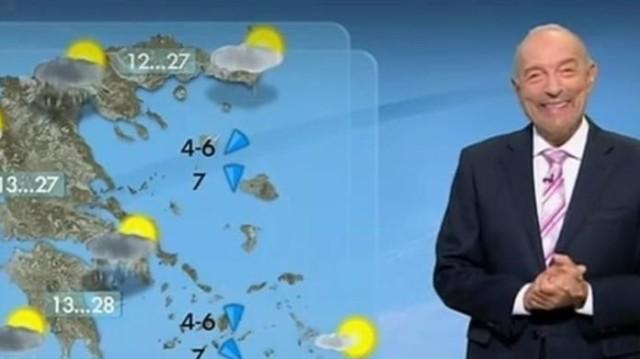 Τάσος Αρνιακός: Απότομη πτώση της θερμοκρασίας! (Βίντεο)