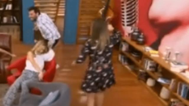 Ναταλία Γερμανού: Απίστευτο! Τον κυνηγούσε για να δει αν φοράει εσώρουχο! (Βίντεο)