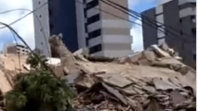 Τραγωδία! Kατέρρευσε επταώροφο κτίριο! Πληροφορίες για νεκρούς! (Βίντεο)