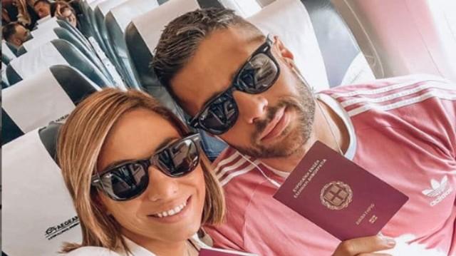 Ευρυδίκη Βαλαβάνη- Κωνσταντίνος Βασάλος: Είναι πιο ερωτευμένοι από ποτέ! Το ρομαντικό ταξίδι και οι βόλτες στην παραλία!