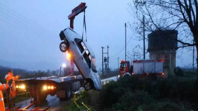 Τροχαίο σοκ στην Καβάλα: Άνδρας βρέθηκε νεκρός μετά την πτώση του αυτοκινήτου του σε ρέμα!