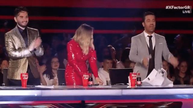 X-Factor: Ανέβηκαν και «έσπασαν» την σκηνή! Σηκώθηκαν όρθιοι οι κριτές και χειροκροτούσαν! (Βίντεο)