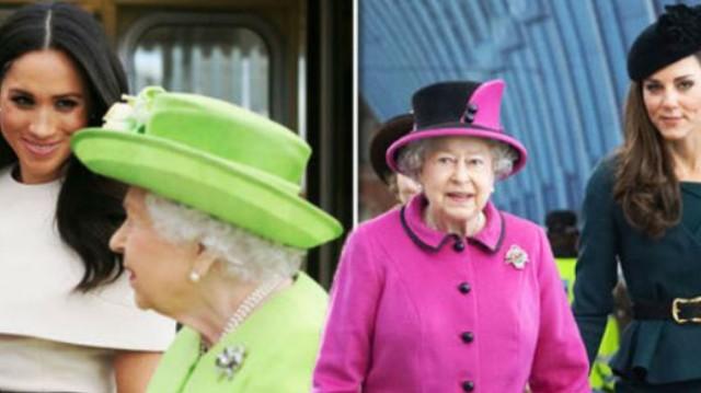 Η Ελισάβετ απαγόρευσε στην Meghan Markle και την Kate Middleton να φοράνε πορτοκαλί! Θα πάθετε «εγκεφαλικό» με τον λόγο!