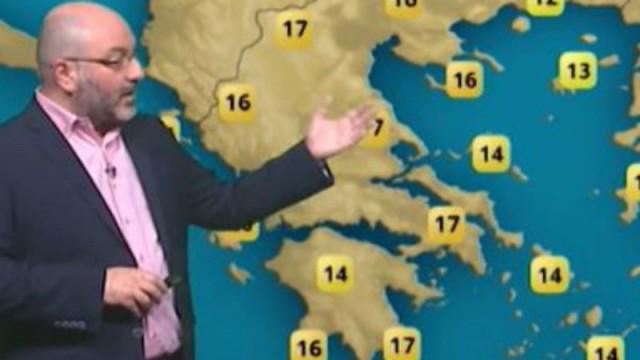 O Σάκης Αρναούτογλου προειδοποιεί: Πού θα βρέξει το τριήμερο της Καθαράς Δευτέρας