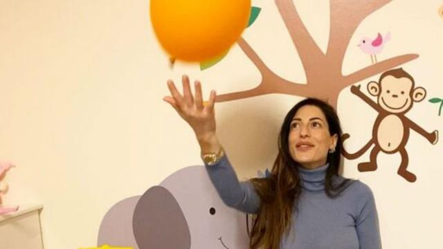 Φλορίντα Πετρουτσέλι: Μας δείχνει για πρώτη φορά το παιδικό δωμάτιο του μωρού που περιμένει!