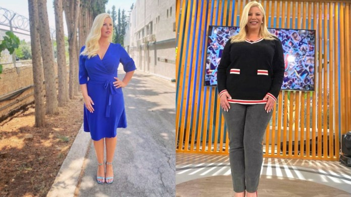 Έχασε 15 κιλά σε 1 μήνα η Αντελίνα Βαρθακούρη - Αυτά ήταν τα μυστικά της