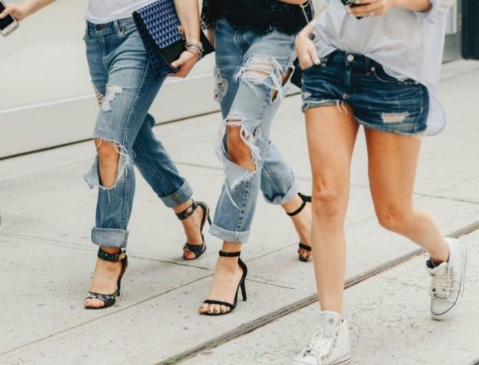 12 Τρόποι για να φορέσεις το σκισμένο σου τζιν...! - FASHION NEWS - YOU  WEEKLY ebb05f08063
