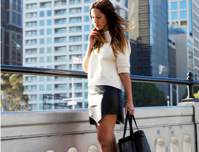 Δερμάτινη φούστα  Το απόλυτο trend - Δες πώς τη φόρεσαν οι celebrities και  πάρε ιδέες... - FASHION NEWS - YOU WEEKLY 2a22999c100