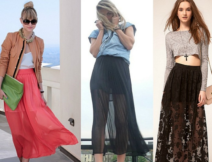 Maxi Skirts  Δες πώς να τις φορέσεις - STREET FASHION - YOU WEEKLY fc72362859f