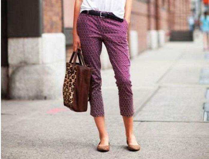 Το νέο trend πάει σε όλες! Δες πώς θα φορέσεις το cropped παντελόνι - ΤΙ ΘΑ  ΦΟΡΕΣΕΙΣ - YOU WEEKLY 1857ebfc248