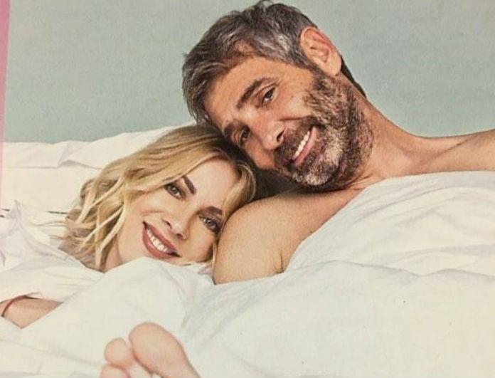 Στο κρεβάτι Σμαράγδα Καρύδη - Θοδωρής Αθερίδης: