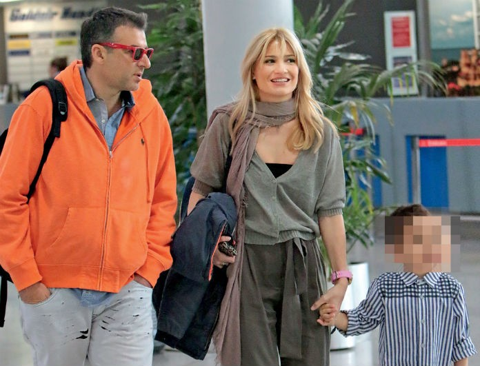 Λιάγκας - Σκορδά: Και επίσημα χωριστές διακοπές μετά το διαζύγιο - Με ποιον θα βρίσκονται τα παιδιά τα Χριστούγεννα...