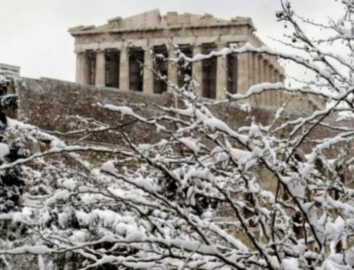 Έρχεται ιστορικός χιονιάς στην Ελλάδα: Πού θα χιονίσει στις 16-18 Δεκεμβρίου;