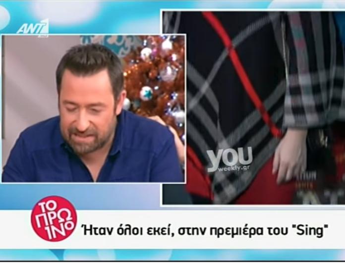 Συγκινήθηκε ο Θέμης Γεωργαντάς στο Πρωινό! Τι τον έκανε να δακρύσει;