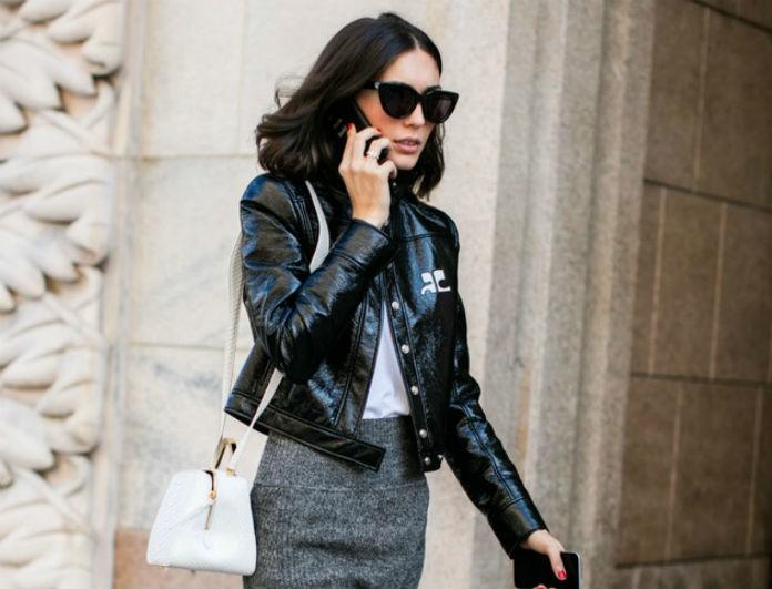 Δερμάτινο jacket  Μάθε με πόσους διαφορετικούς τρόπους μπορείς να το  φορέσεις - STREET FASHION - YOU WEEKLY c2e8b9f5d0e