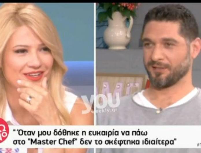 Έπαθε πλάκα η Φαίη Σκορδά με τον Πάνο Ιωαννίδη! Η βόλτα στο πλατό, η επίσημη πρόταση και οι αμήχανες στιγμές on air! Όλα όσα εξομολογήθηκε ο κριτής του Master Chef...(Βίντεο)