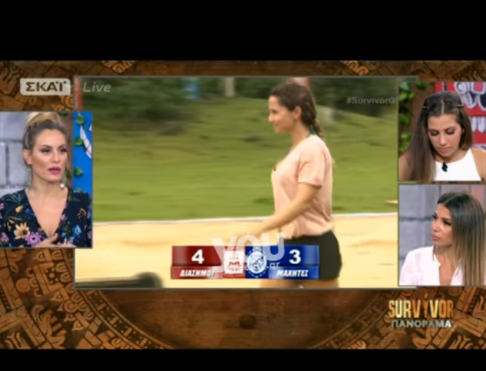 Survivor Πανόραμα: Η Ελένη Χατζίδου ξεσκίζει την Σόφη Πασχάλη: