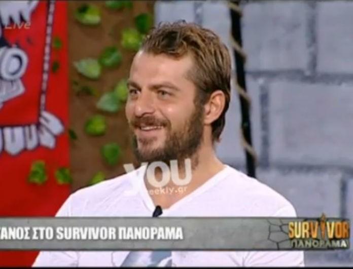 Survivor Πανόραμα: Ο Γιώργος Αγγελόπουλος διαψεύδει όλα αυτά που ακούστηκαν για την προσωπική του ζωή! (Βίντεο)