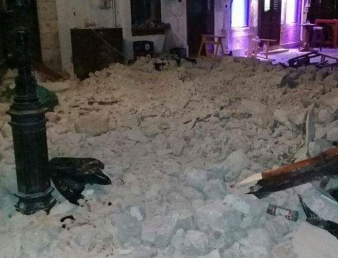 Κως: Συγκλονίζει η μαρτυρία θαμώνα του μοιραίου μπαρ λίγα λεπτά μετά τον φονικό σεισμό