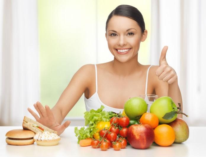 Ακολουθήστε αυτό το πρόγραμμα διατροφής και θα χάσετε 4 κιλά το μήνα χωρίς πείνα!