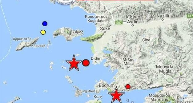 Φονικός σεισμός 6,4 στα Δωδεκάνησα: Δύο νεκροί, τραυματίες, ζημιές