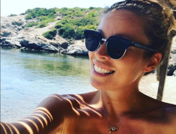 Το νέο μαγευτικό στιγμιότυπο της Μαριέττας Χρουσαλά από τις διακοπές της στην Ιταλία! Πιο χαμογελαστή από ποτέ στον 6ο μήνα της εγκυμοσύνης της..
