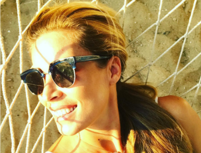 Όσο πάει και φουσκώνει! Η νέα φωτογραφία της Μαριέττας Χρουσαλά στο instagram με μπικίνι στον 5o μήνα εγκυμοσύνης