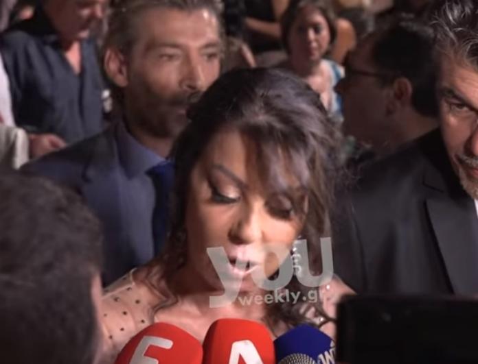 Ρώτησαν την Άντζελα Δημητρίου για την εγκυμοσύνη της Όλγας Κιουρτσάκη, ενώ ήδη είχε χάσει το παιδάκι της! Ποια η αντίδραση της; (Bίντεο)