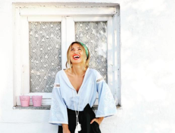 Μαρία Ηλιάκη: Το οικονομικό H&M φόρεμά της που θέλουμε να αποκτήσουμε αμέσως
