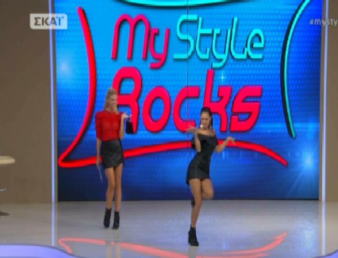 My style rocks: Ο αισθησιακός χορός παίκτριας που άναψε μέχρι και την Αραβανή! Tο σεξιστικό σχόλιο της παρουσιάστριας... (Βίντεο)