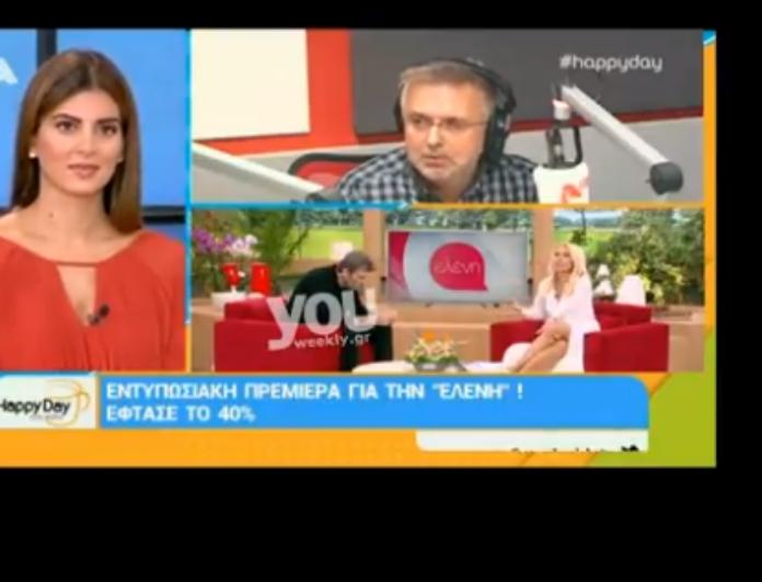 Οι αποκαλύψεις του Δήμου Βερύκιου για την πρεμιέρα της Μενεγάκη! Η εντατική προετοιμασία το καλοκαίρι και η αγκαλιά που ζήτησε πριν την πρεμιέρα! (βίντεο)