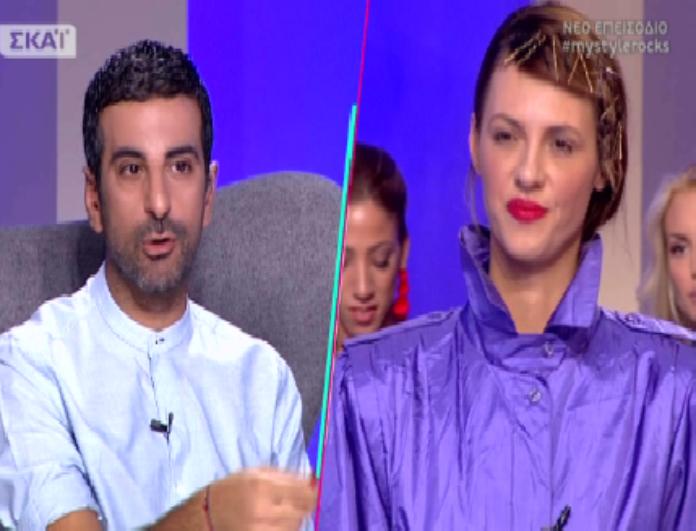 My style rocks: Η Ραμόνα επανήλθε! Η νέα διαφωνία με την κριτική επιτροπή και τα ξεκαρδιστικά σχόλια του Χριστόπουλου! (βίντεο)