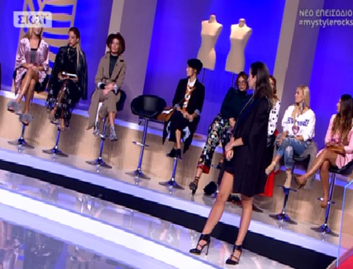 My style rocks: Η Τούνη πήρε τη θέση της Ραμόνα και ξέσκισε συμπαίκτρια της: «Έχεις κάνει ένα τίποτα!» (βίντεο)