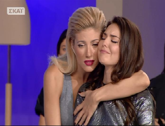 My style rocks: Η έκρηξη παίκτριας στον αέρα της εκπομπής! Την αγκάλιασε η Αραβανή και έβαλε τα κλάματα! Τι συνέβη; (Bίντεο)