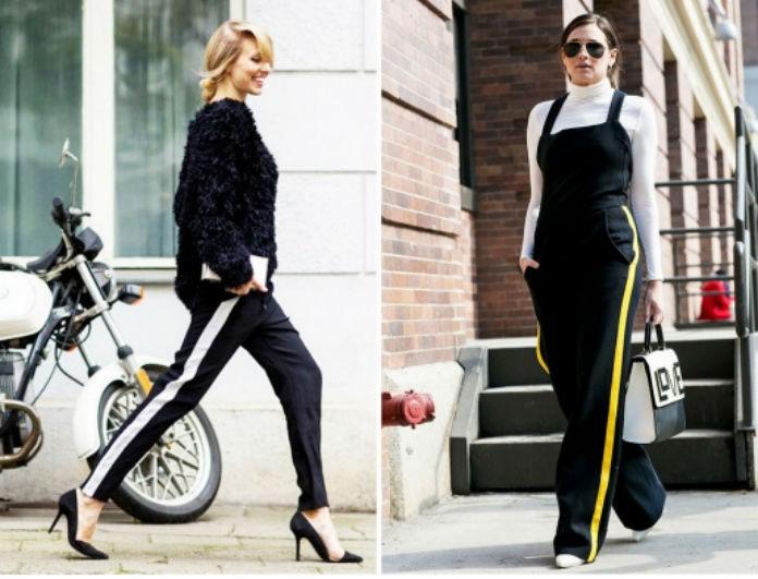8822cb17f245 Παντελόνι με ρίγα στο πλάι! Το απόλυτο trend της εβδομάδας και πώς θα το  φορέσεις όλες τις ώρες! - TRENDS - Youweekly