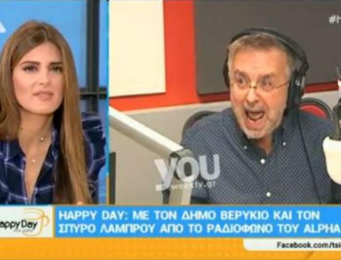Έξω φρενών ο Δήμος Βερύκιος με παρουσιαστές του Σκάι! Γιατί πήρε τηλέφωνο στον σταθμό ο δημοσιογράφος! (βίντεο)