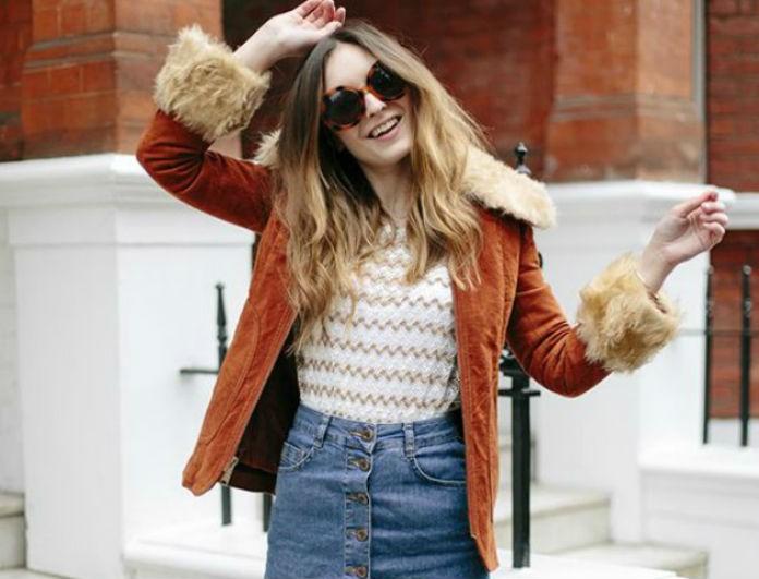 Denim φούστα: Πώς να την φορέσεις με στιλ τον χειμώνα!